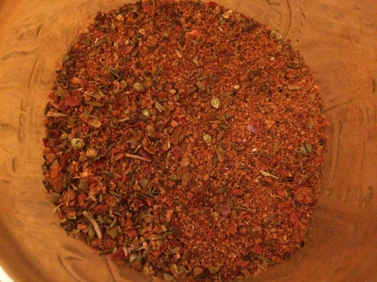 Cajun-Gewürzmischung (Cajun-Spice-Mix)