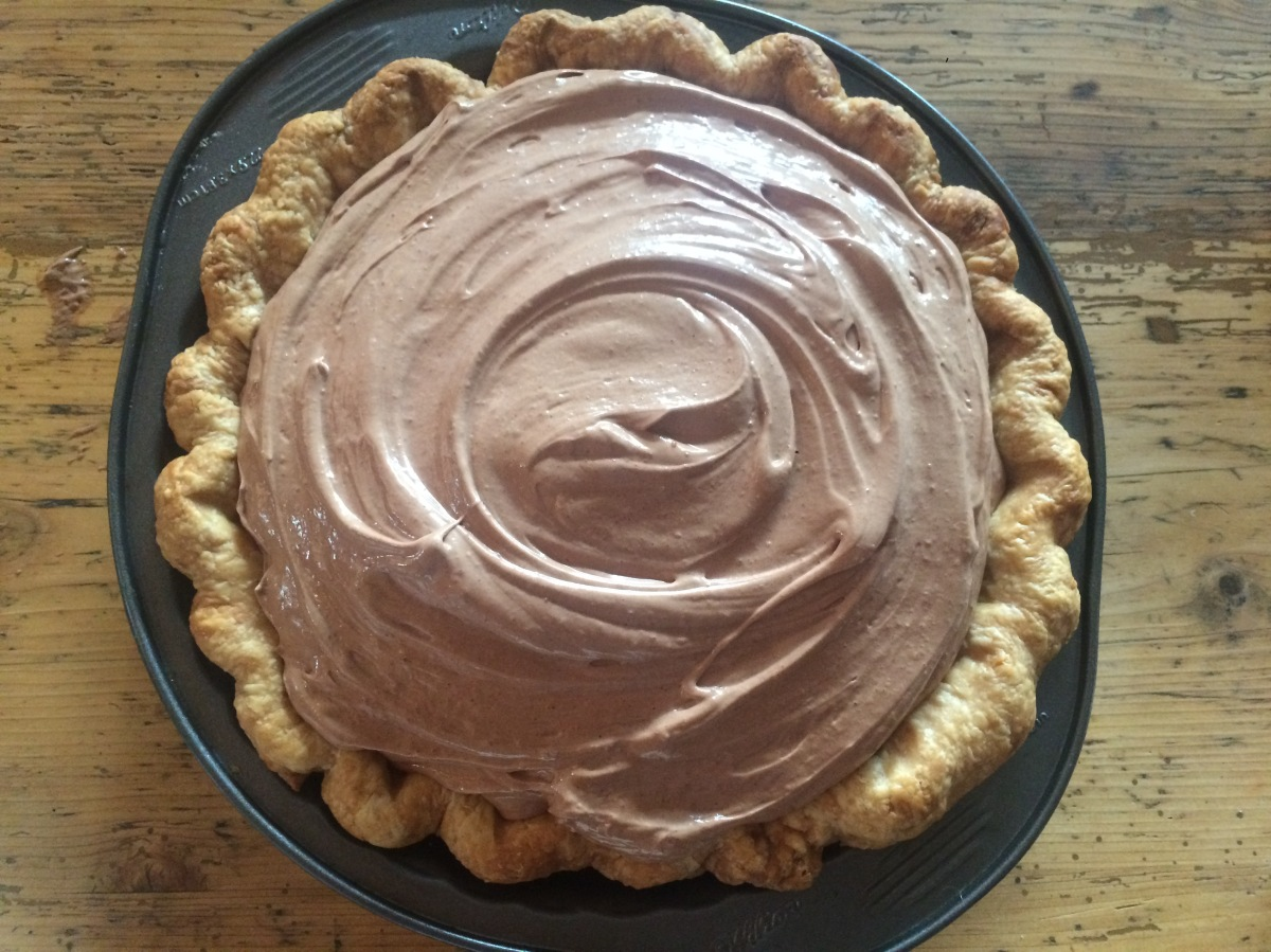 French Silk Pie (Schokoladencreme-Pie)