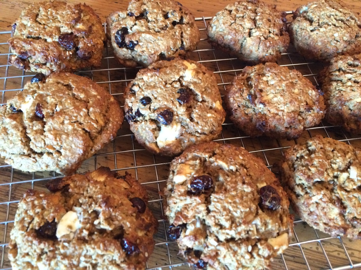 Frühstücks-Cookies oder auch: Pocket-Müsli (Breakfast-Cookies)