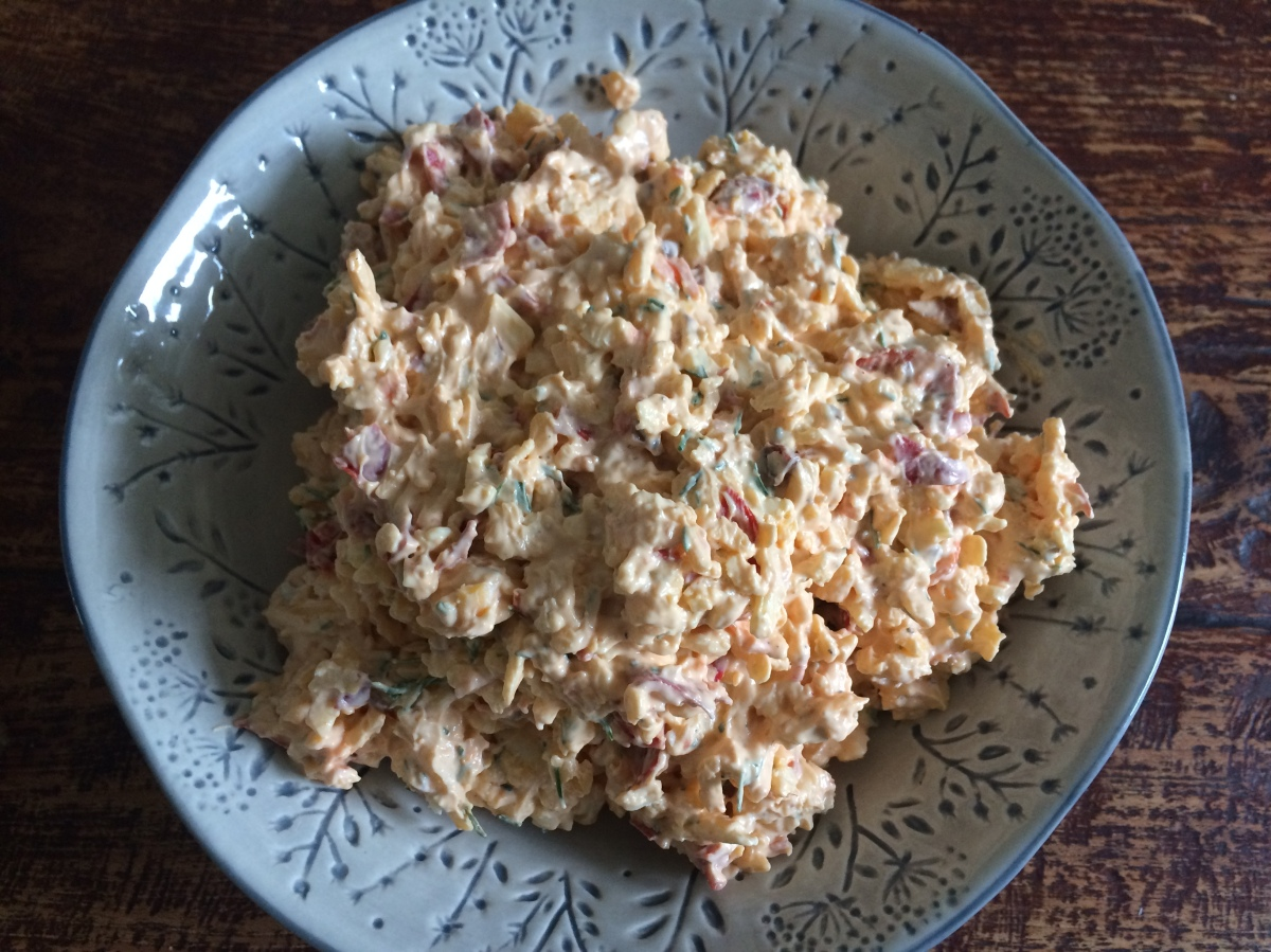 Pimento Cheese - oder auch Spundekäs mal anders